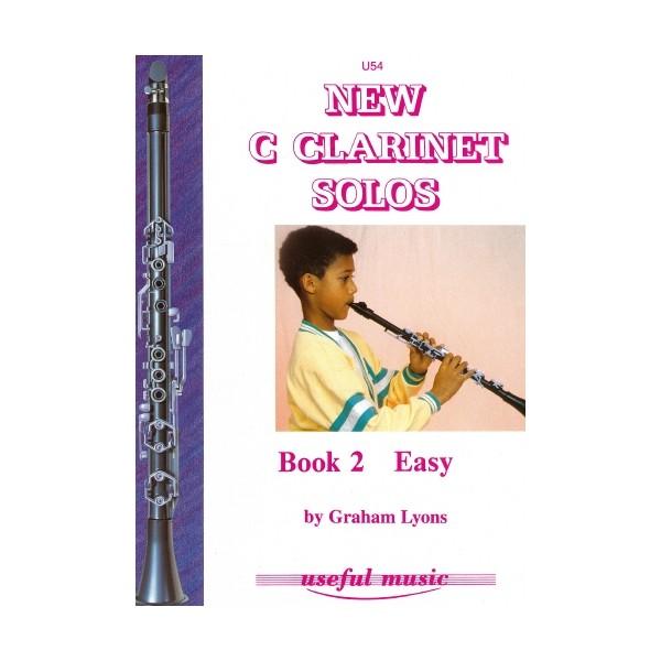 New C Clarinet Solos Book 2 - Graham Lyons