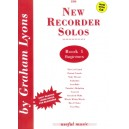 New Recorder Solos Book 1 with CD - Graham Lyons