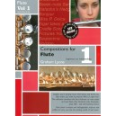 Compositions for Flute Volume 1 With CD - Graham Lyons