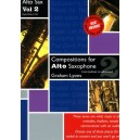 Compositions for Alto Saxophone Volume 2 With CD - Graham Lyons
