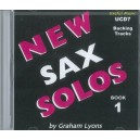 New Alto/Ten Sax Solos Book 1 Accompaniment CD - Graham Lyons