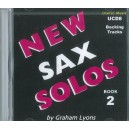 New Alto/Ten Sax Solos Book 2 Accompaniment CD - Graham Lyons