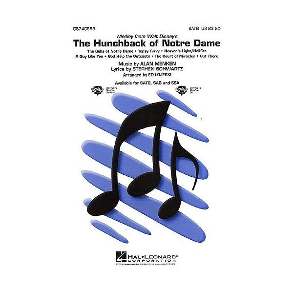 Alan Menken: The Hunchback Of Notre Dame (SATB/Piano)