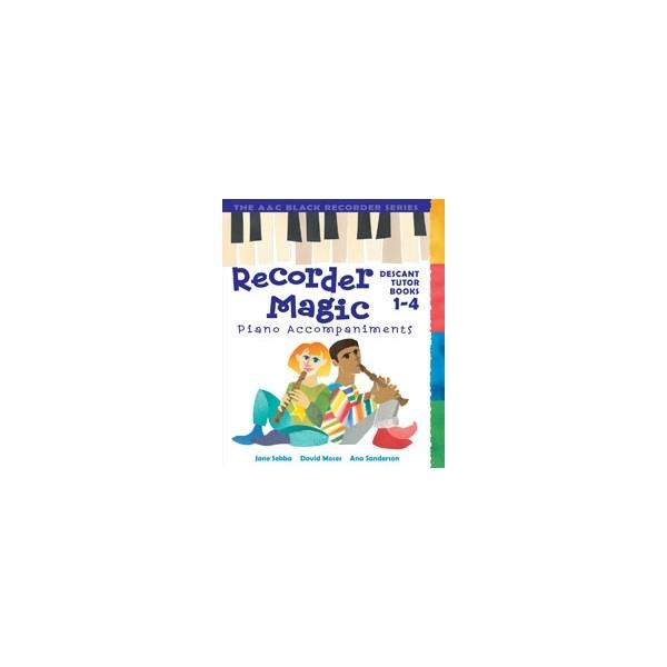 Recorder Magic Books 1-4 Piano Accompaniments