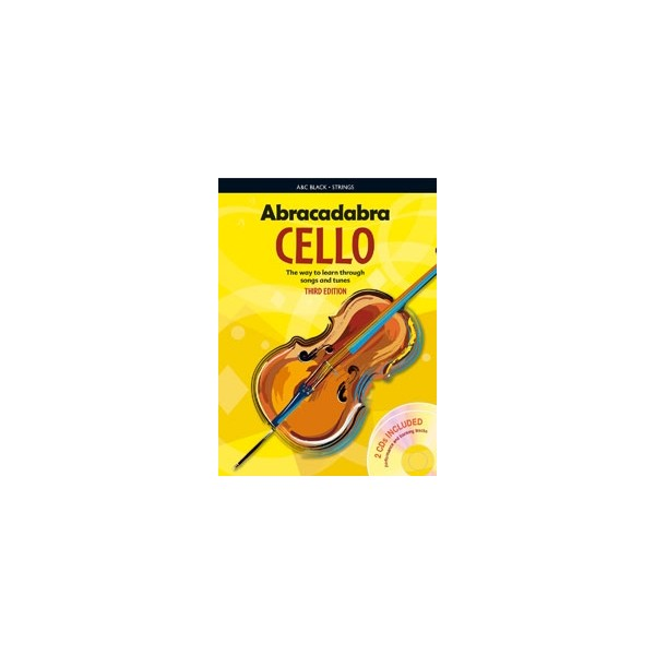 Abracadabra Cello Pupils book + 2 CDs 3rd Edition