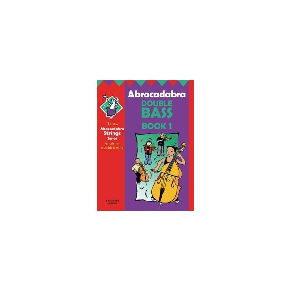 Abracadabra Double Bass book 1 Pupils book + CD