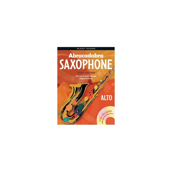Abracadabra Saxophone Pupils Book + CD 3rd Edition