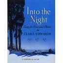 Clara Edwards: Into The Night (High Voice) - Edwards, Clara (Artist)