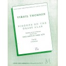 Virgil Thomson: Pigeons On The Grass Alas - Thomson, Virgil (Artist)