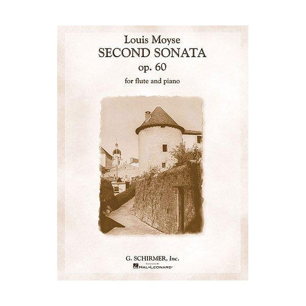 Louis Moyse: Second Sonata For Flute And Piano Op. 60 - Moyse, Louis (Artist)