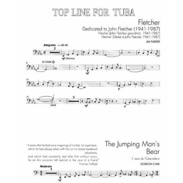 Top Line Album for Tuba