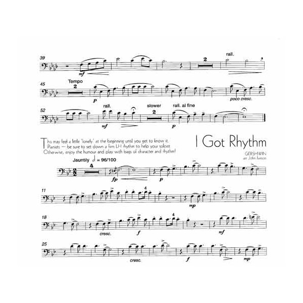 A Little Light Music for Trombone