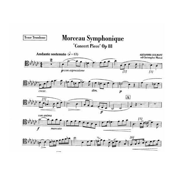 Morceau Symphonique Concert Piece