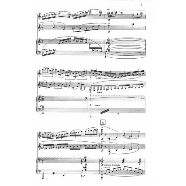 Trio for Horn, Violin and Piano