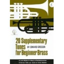 20 Supplementary Tunes for Beginner Brass