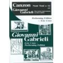 Canzon noni toni à 12 (1597)