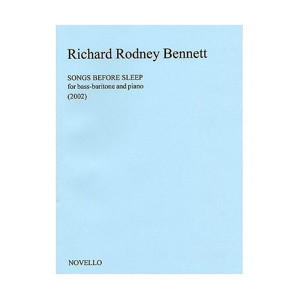 Richard Rodney Bennett: Songs Before Sleep (Bass-Baritone)