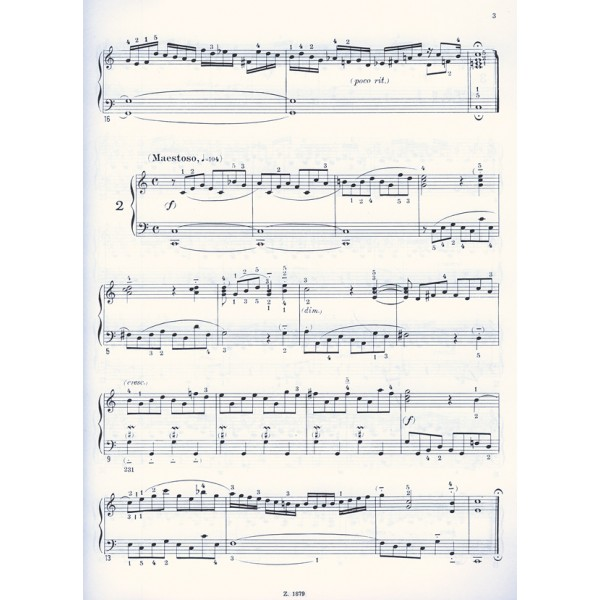 Bach, Johann Sebastian - 18 Little  Preludes