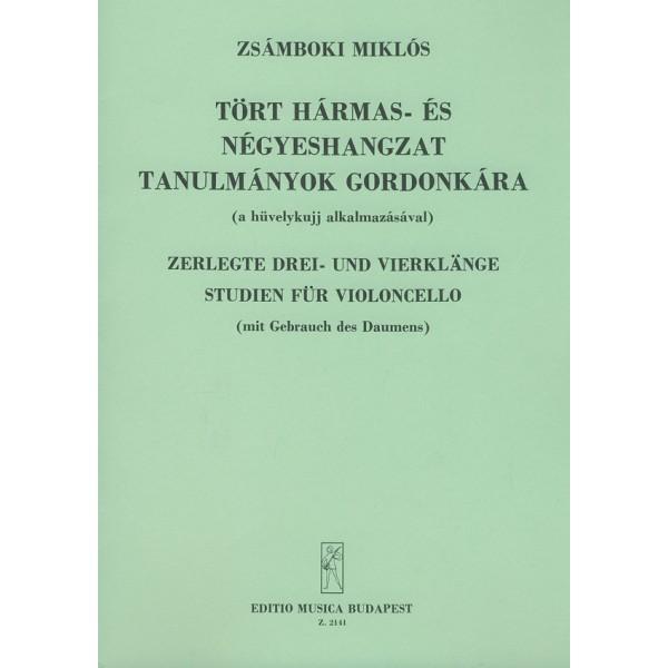 Zsámboki Miklós - Arpeggio Studies For Violoncello