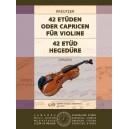 Kreutzer, Rodolphe - 42 Etudes Or Caprices