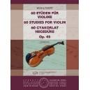 Wohlfahrt, F. - 60 Studies For Violin