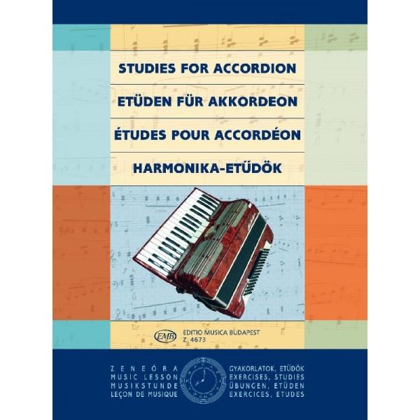 Studies For Accordion