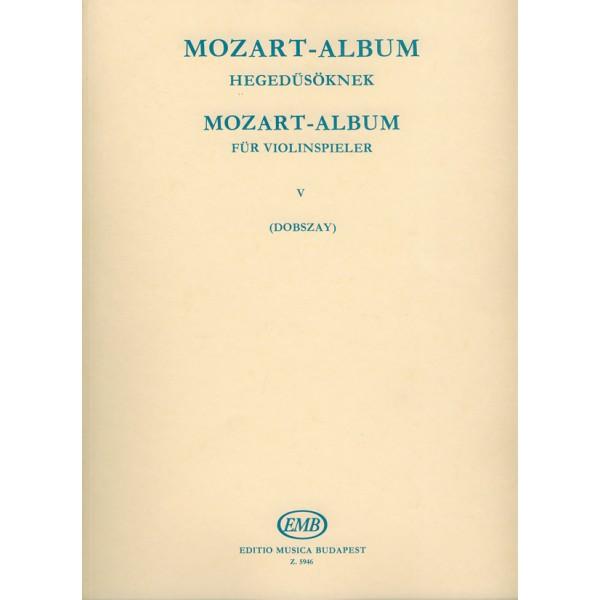 Mozart, Wolfgang Amadeus - Album For Violin - Sonata Movements