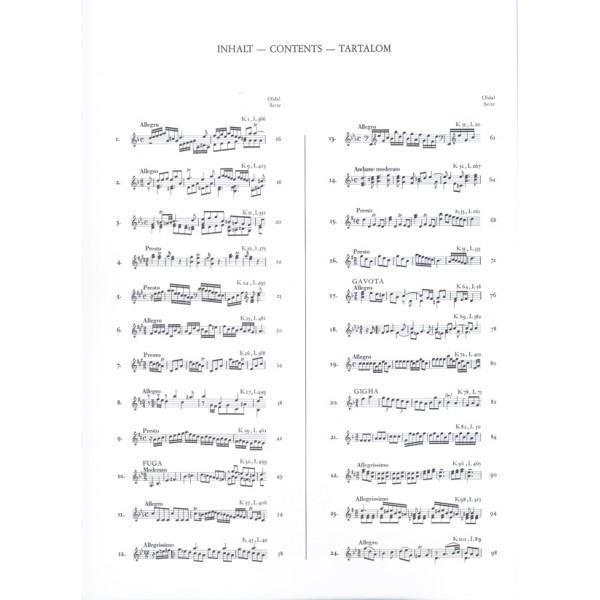 Scarlatti, Domenico - 200 Sonate Per Clavicembalo (pianoforte) - Parte prima (No. 1-50)