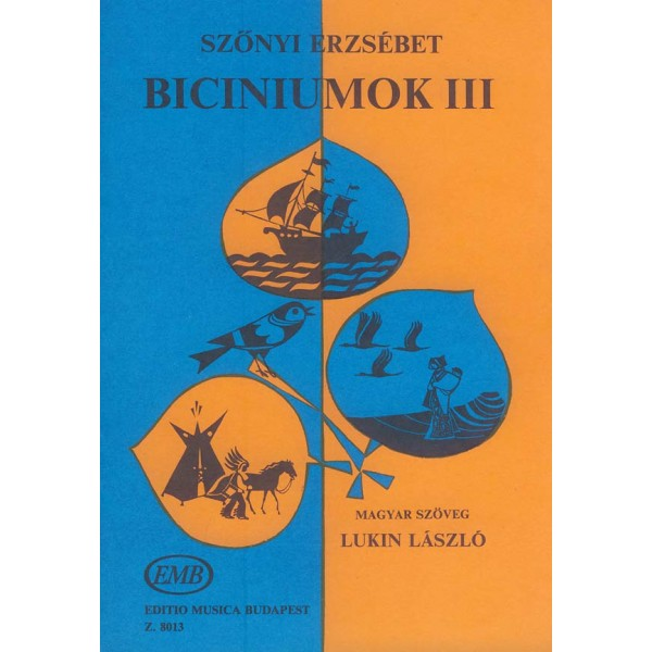 Sz_nyi Erzsébet - Biciniums - American, Australian, Japanese and French Folks