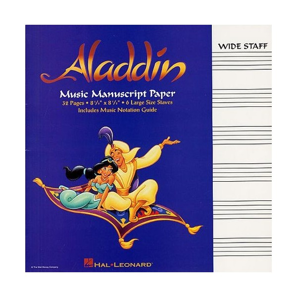 Aladdin Manuscript Paper