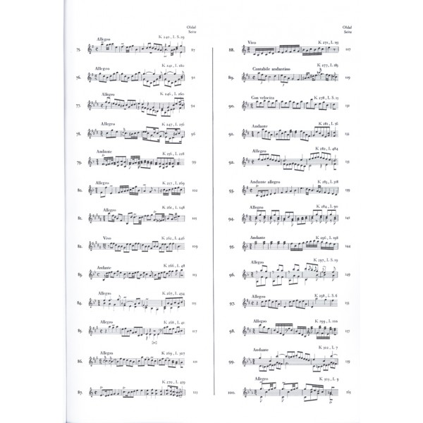 Scarlatti, Domenico - 200 Sonate Per Clavicembalo (pianoforte) - Parte seconda (No. 51-100)
