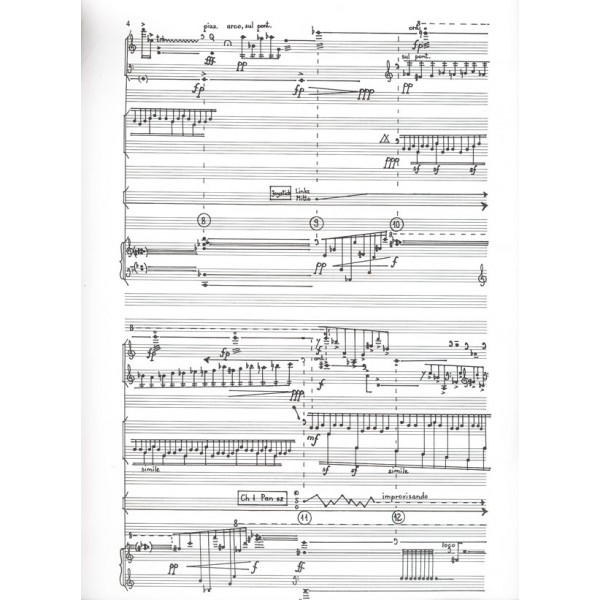 Dubrovay László - A2 - for violin, violoncello, percussion, piano and synthesizer