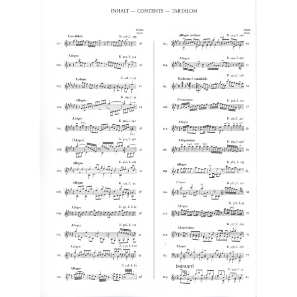 Scarlatti, Domenico - 200 Sonate Per Clavicembalo (pianoforte) - Parte terza (No. 101-150)