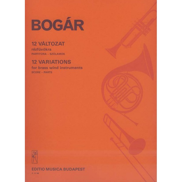 Bogár István - 12 Variations For Brass Instruments