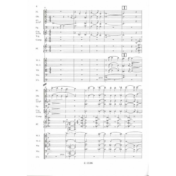Petrovics Emil - Cantata No. 4 (mind Elmegyünk) - for female chorus and chamber orchestra to a poem by S. Weöres