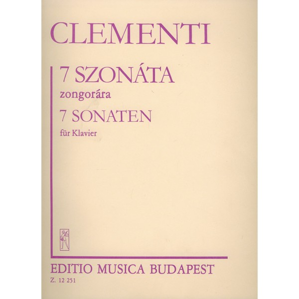 Clementi, Muzio - 7 Sonatas For Piano