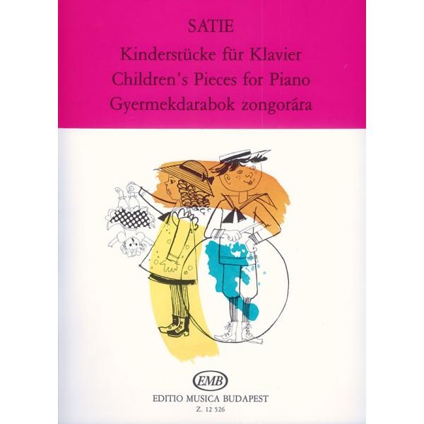 Satie, Erik - Childrens Pieces - I. Childrens Sayings, II. Picturesque Childishness,  III. Annoying Peccadillos