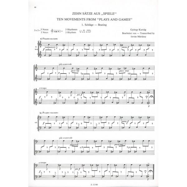 Zilcz György, Máriássy István, Varasdy Frigyes - An Introduction To Ensemble Playing For Brass Instruments