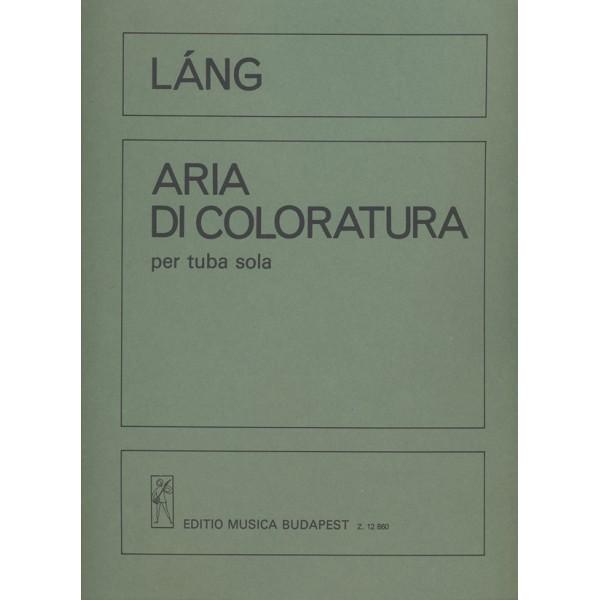 Láng István - Aria Di Coloratura - per tuba solo