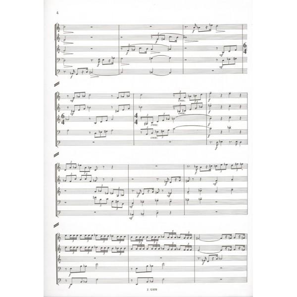 Hidas Frigyes - 5x5 - for brass quintet