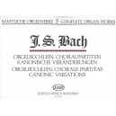 Bach, Johann Sebastian - Complete Organ Works - Orgelbüchlein, Choral Partitas, Canonic Variations