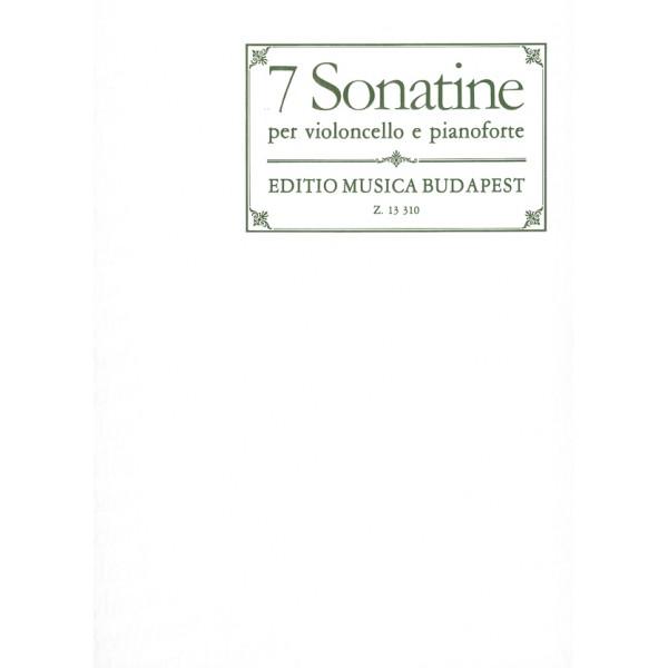 7 Sonatinas - (Haydn, Mozart, Beethoven, Schubert)