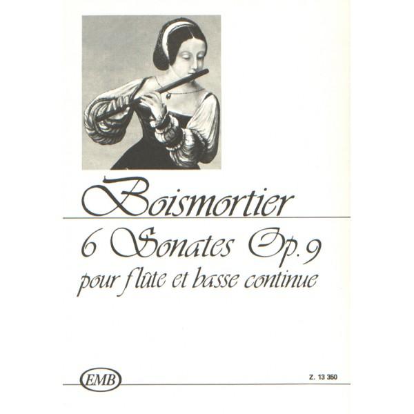 Boismortier, Joseph Bodin de - 6 Sonates Pour Flute Et Basso Continue