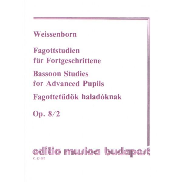 Weissenborn, Julius - Bassoon Studies  For Beginners