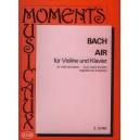 Bach, Johann Sebastian - Air (bwv 1068/ii) - for violin and piano
