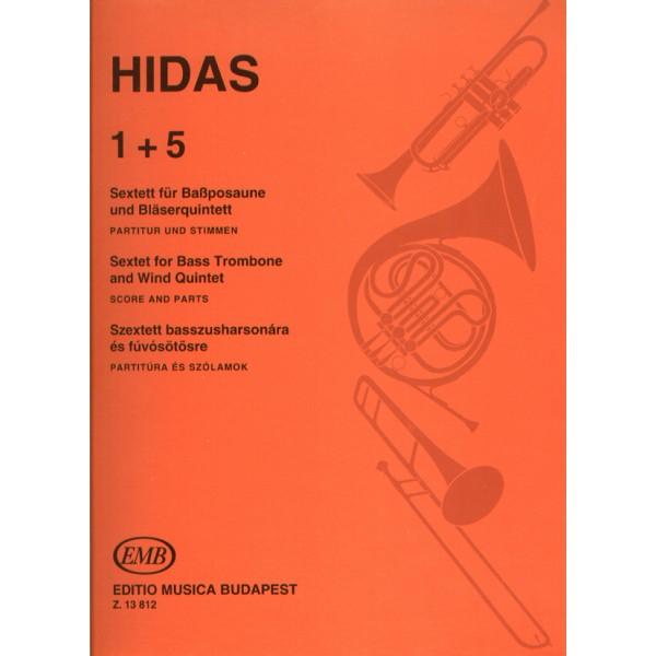 Hidas Frigyes - 1+5 - Sextet for Bass Trombone and Wind Quintet