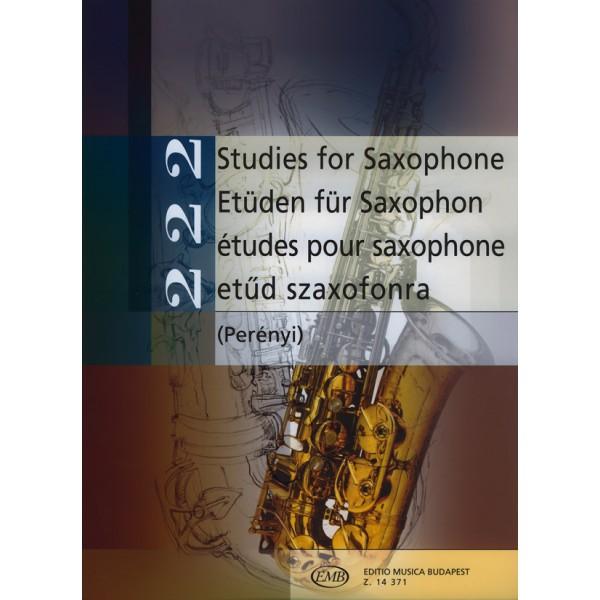222 Studies For Saxophone