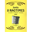 Joplin, Scott - 8 Ragtimes - for accordion