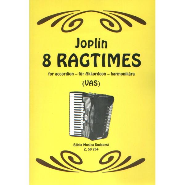 Joplin, Scott - 8 Ragtimes - for accordion