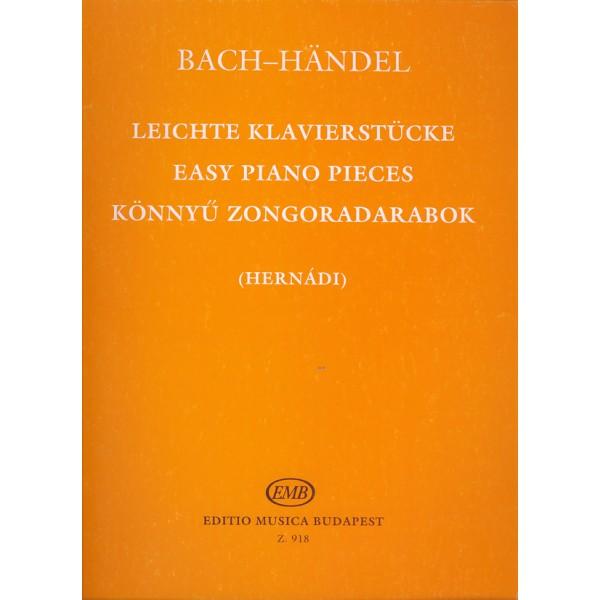 Bach, Johann Sebastian, Händel, Georg Friedrich - Easy Piano Pieces - 18 Works by J.S.Bach, the Sons of Bach and G.F.Händel